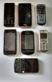 7 Celular Com Defeito Para Retirar Peças Nokia Foston