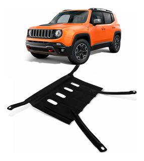 Protetor Cárter Peito De Aço Jeep Renegade Flex Diesel 2018
