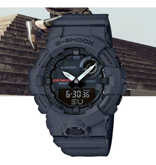 Relógio Casio G-shock Masculino G-squad Gba-800-8adr Cinza