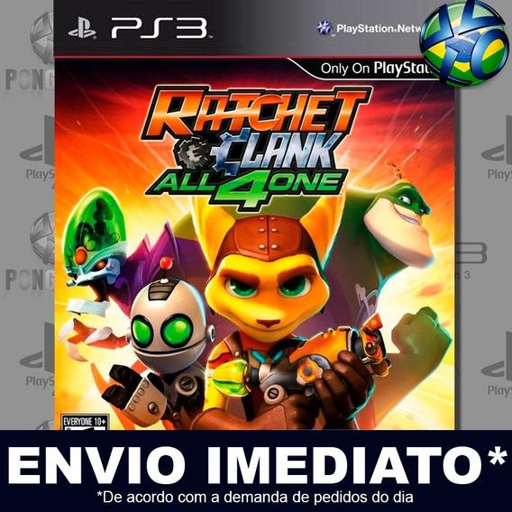 Ratchet And Clank All 4 One Ps3 Psn Jogo Em Promoção Play 3