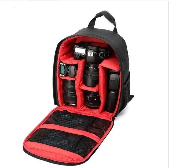 Bolsa Fotográfica Profissional Para Câmeras - Canon / Nikon
