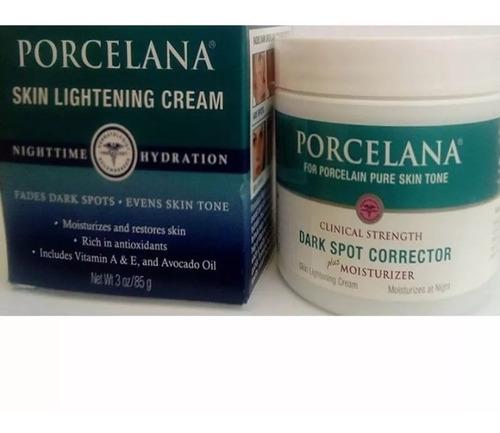 desarrollo de jaula dividir  Crema Porcelana Noche 0.3 Onz 85 Grs Facial Antimanchas | Mercado Libre