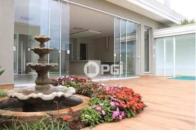 Casa Com 4 Dormitórios À Venda, 342 M² Por R$ 2.100.000 - Reserva Santa Luisa - Ribeirão Preto/sp - Ca2769