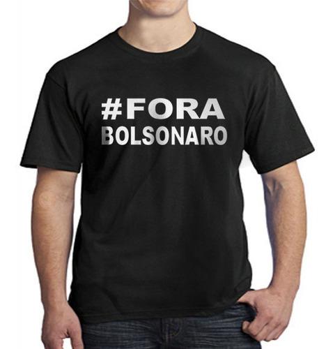 Camiseta #fora Bolsonaro