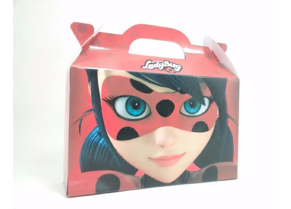 Ladybug And Cat Noir X30 Valijitas Golosineras