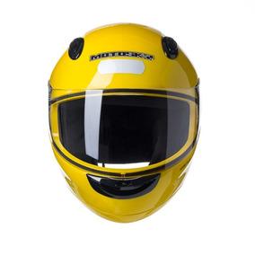 Capacete Texx Motosky Magnum - Amarelo
