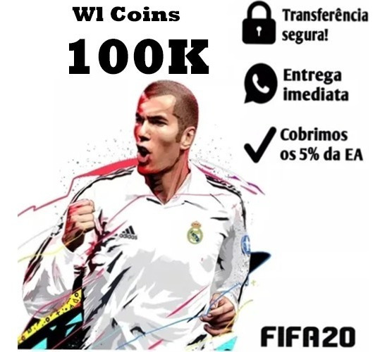 100k Fifa 20 Ps4