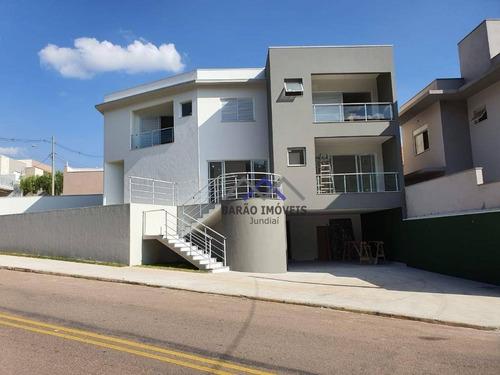 Casa Com 3 Dormitórios À Venda, 160 M² Por R$ 920.000,00 - Parque Cecap - Jundiaí/sp - Ca1137
