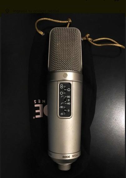 Microfone Condensador Rode Nt2a