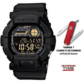 Relógio Casio Masculino G-shock Gd-350-1bdr + Brinde C/ Nfe