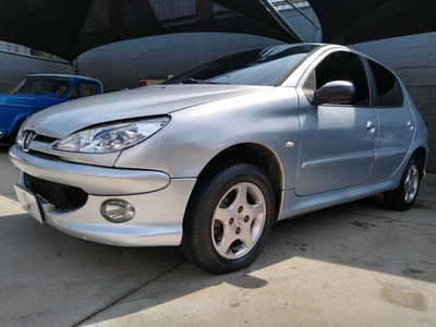 Peugeot 206 1.6 Feline Fx 2006/2007 (flex) - Prata