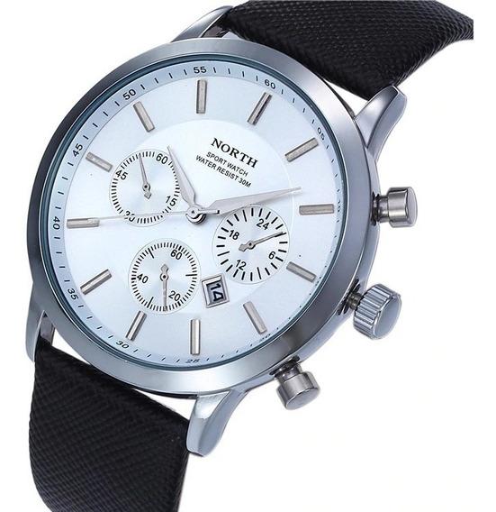 Elegante Reloj Blanco Y Negro Reloj de Pulsera en Mercado