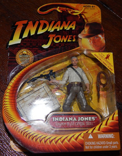 Figura De Acción De Indiana Jones. Hasbro