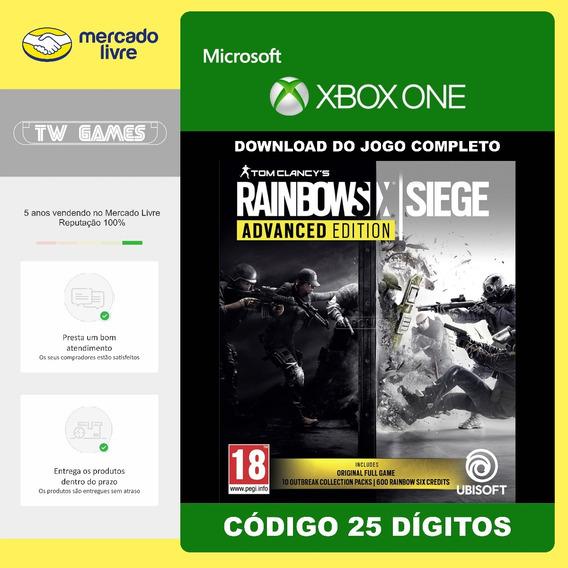 Rainbow Six Siege Advanced Ed 25 Digitos Original Xbox One