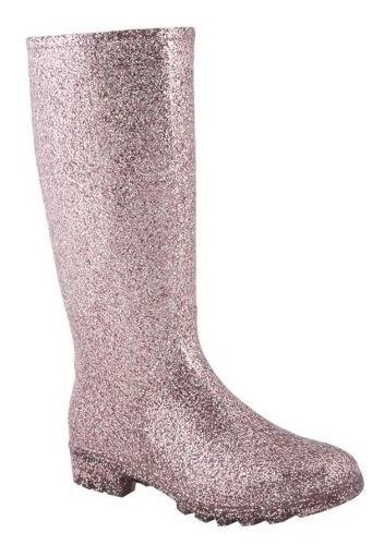 Bota De Lluvia Pink By Price Shoes 8723 Full Plastic 821394