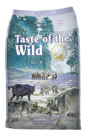 Taste Of The Wild Sierra Mountain Canine 12.7 (28 Lb)