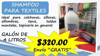 Shampoo Para Textiles Galón 4 Lts.