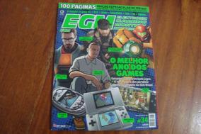 Lrv Egm Brasil 34 / Melhor Ano Dos Games / Half Life Snake