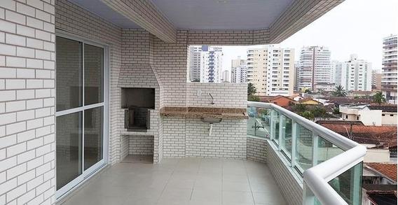 Apartamento Em Vila Guilhermina, Praia Grande/sp De 131m² 3 Quartos À Venda Por R$ 578.424,00 - Ap168987