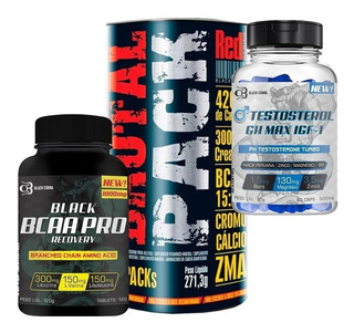 Animal Brutal Pack 30 Packs + Bcaa 120 Caps + Testosterol Ph