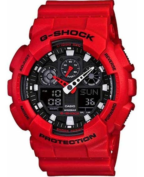 Relógio Casio G-shock Ga-100b-4adr Three Eye + Garantia