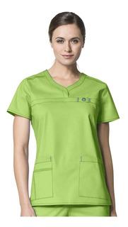 Conjunto Quirúrgico Wonderflex Dama. Color Green Apple
