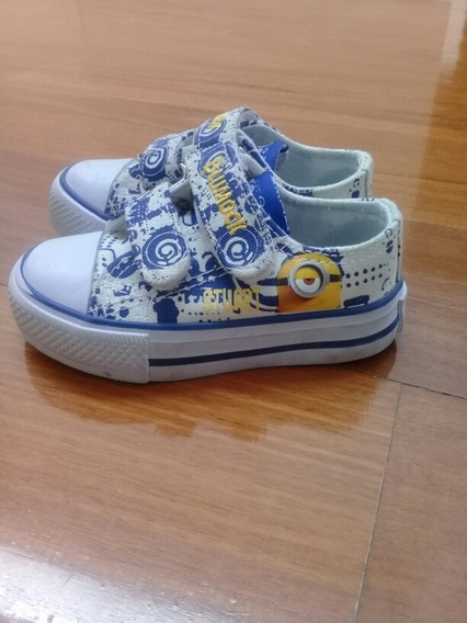 Zapatillas Addnice Minions Talle 21 Impecables Mdq