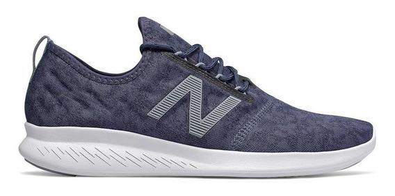 Tênis New Balance Fuelcore Coast Corrida Masculino Azul
