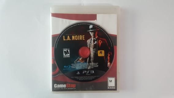La Noire - Ps3 - Original - Usado - Sem Encarte