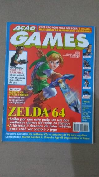 Revista Ação Games Nº 134 Dezembro De 1998 Ótimo Estado