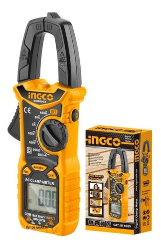 Pinza Amperimetrica Tester Multimetro Digital Ingco Dcm6003