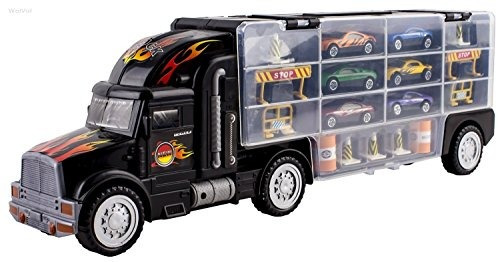 Juguete Para De Niños Y Camión Transporte Carros m8vN0nw