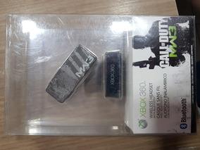 Fone Headset Bluetooth Xbox 360 Call Of Duty Mw3