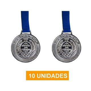 Kit 10 Medalhas Prata Futebol Volei Artes Marciais - 50mm