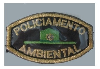 Patch / Distintivo Bordado Policiamento Ambiental