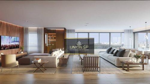 Apartamento Com 4 Dormitórios À Venda, 278 M² Por R$ 9.954.608,00 - Jardim Paulista - São Paulo/sp - Ap45085