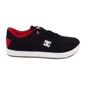 Tenis Dc Shoes Crisis Tx Youth Adbs100210 Xkrw Black Red