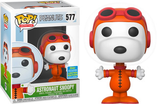 Funko Pop #577 Peanuts Snoopy Astronaut Sdcc Nortoys