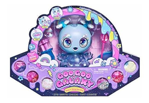 Goo Goo Galaxy Muñeca 8 Pulgadas - Limo Diy Y Kit Glitter