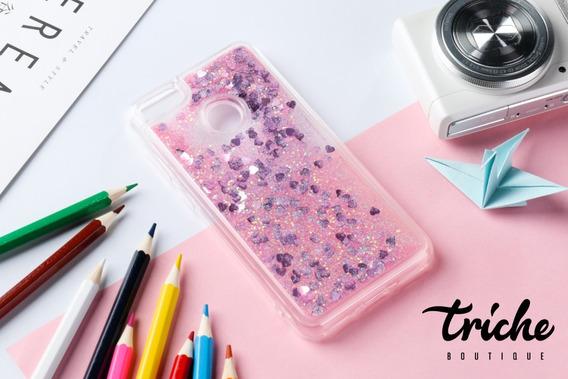 Funda Case Diseño Brillos Pecera Colores Xiaomi Mi A1