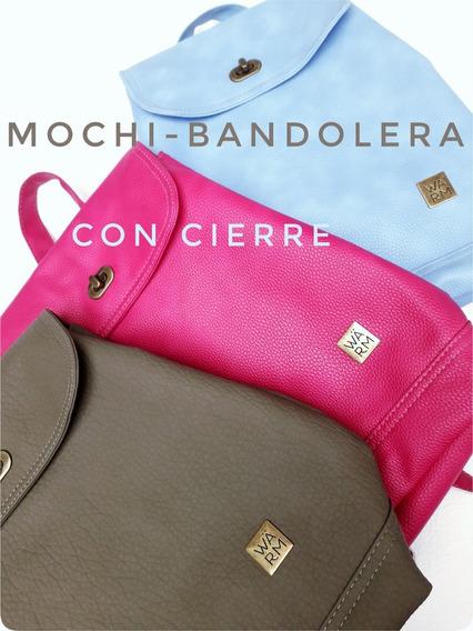 Mochi Bandolera Con Cierre