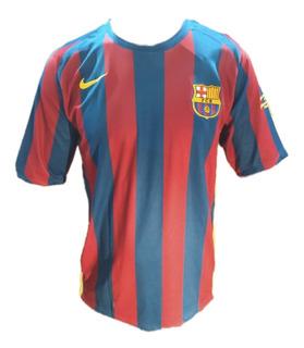 Camisa Barcelona 2005/06 Ronaldinho