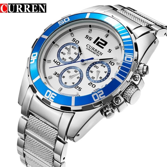 Relógio Curren De Luxo Masculino Barato