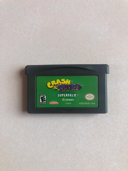 Crash Y Spyro Game Boy Advance