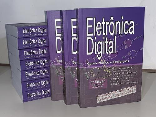 Imagem 1 de 2 de 10 Un Eletrônica Digital: Curso Prático Exer. Capa Mole