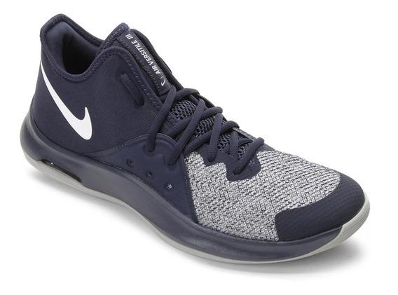 Tênis Nike Air Versitile 3 - Masculino - Azul Marinho