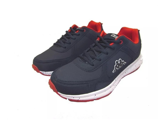 Zapatillas Kappa Niño Azul Rijo Logo Perky Kid Blue Red