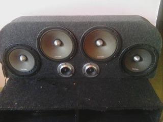 Sonido 2 Bajos De 12 Medios 4 De 8 Dos Balas 1 Planta Sb