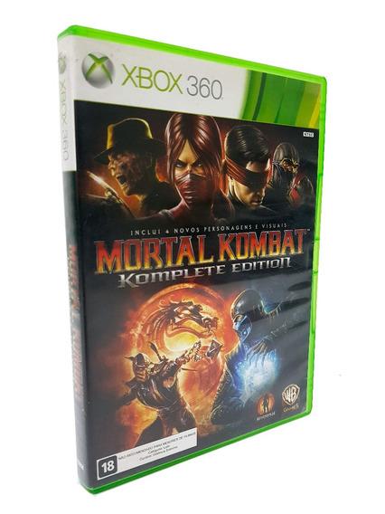 Mortal Kombat Komplete Edition Midia Fisica Xbox 360