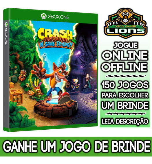 Crash Bandicoot Trilogy Xbox One + Brinde